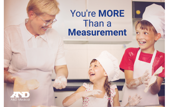 You're More Than a Measurement