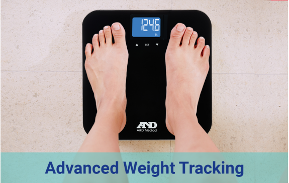 Scales for advanced weight tracking