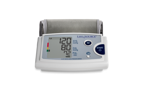 UA-787EJ Blood Pressure Monitor, front